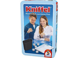 Kniffel in Metalldose