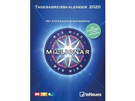 Wer wird Millionär 2020 Tagesabreißkalender
