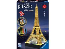 Eiffelturm bei Nacht. 3D-Puzzle 216 Teile