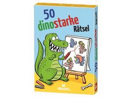 50 Dinosstarke Rätsel