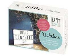 Happy me Lichtbox - Bitte einzeln einlagern