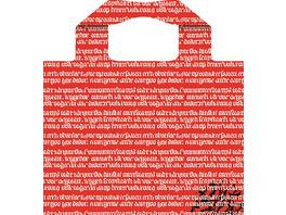Hugendubel Easy Bag 2.0 rot Bitte einzeln einlagern