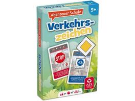 Abenteuer Schule - Verkehrszeichen  Kartenspiel