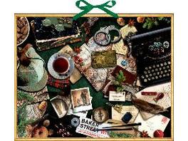 Zettelkalender - Krimi-Advent mit Sherlock Holmes