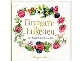 Etikettenbüchlein - Einmach-Etiketten  Marjolein B
