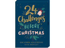 Karten-Box - 24 Challenges before Christmas