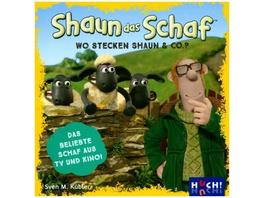 Shaun das Schaf - Wo stecken Shaun   Co.?  Kinders