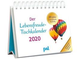 Der PAL-Lebensfreude-Tischkalender 2020