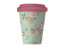 Becher BambooCUP - Vintage Roses