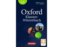 Oxford Klausur-Wörterbuch - Ausgabe 2018. B1-C1 -