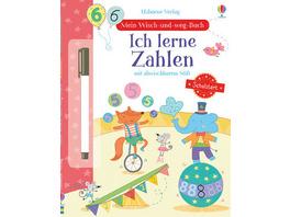 Mein Wisch-und-weg-Buch Schulstart: Ich lerne Zahl