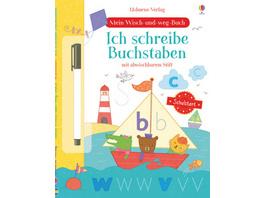 Mein Wisch-und-weg-Buch Schulstart: Ich schreibe B