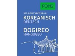 PONS Das kleine Wörterbuch Koreanisch