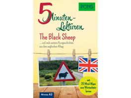 PONS 5-Minuten-Lektüren Englisch A2 - The Black Sh