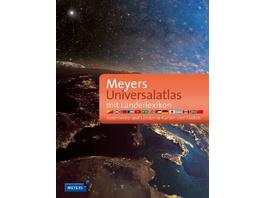 Meyers Universalatlas mit Länderlexikon