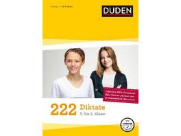 222 Diktate - 5. bis 8. Klasse
