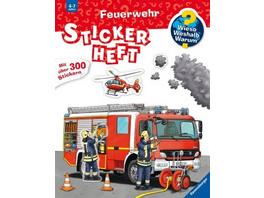 Feuerwehr Stickerheft