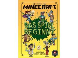 Minecraft, Das Spiel beginnt