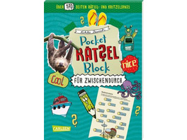 Pocket-Rätsel-Block: Für zwischendurch