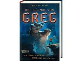Die Legende von Greg 1: Der krass katastrophale An