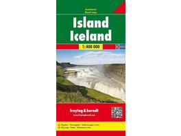 Island 1 : 400 000. Autokarte