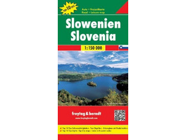 Slowenien, Autokarte 1:150.000, Top 10 Tips
