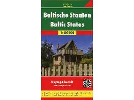 Baltische Staaten   Baltic States 1 : 400 000 Auto
