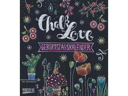 Geburtstagskalender Chalk Love