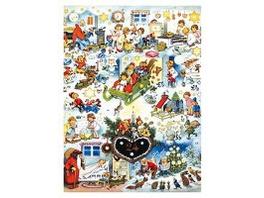 Lebkuchenherz. Adventskalender