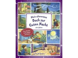 Mein allererstes Buch zur Guten Nacht ab 2 Jahre.