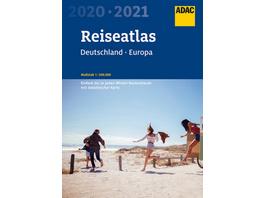 ADAC Reiseatlas Deutschland, Europa 2020 2021 1:20