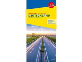 Falk Länderkarte Deutschland Falkfaltung 1:650 000