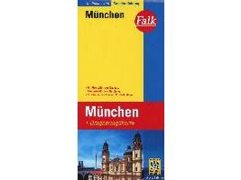 Falk Stadtplan Extra Standardfaltung München 1 : 2