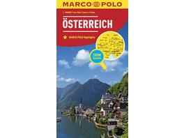 MARCO POLO Länderkarte Österreich 1:300 000