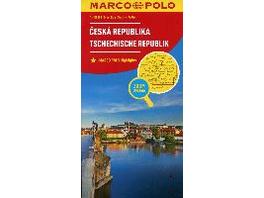 MARCO POLO Länderkarte Tschechische Republik 1:300