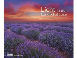 Licht in der Landschaft 2020 - Wandkalender 58,4 x
