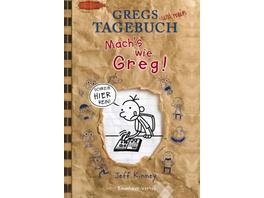 Gregs Tagebuch - Mach s wie Greg!