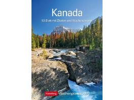 Kanada 2020 Wochenplaner