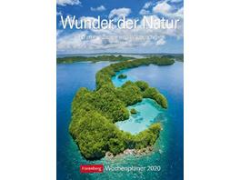 Wunder der Natur 2020. Wochenplaner