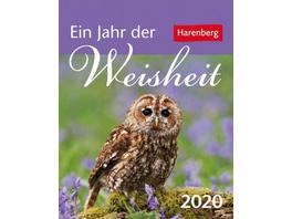 Ein Jahr der Weisheit 2020 Mini-Geschenkkalender