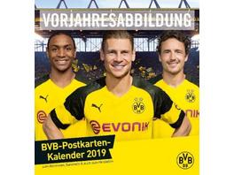 Borussia Dortmund 2020 Postkartenkalender