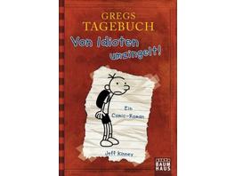 Gregs Tagebuch 01. Von Idioten umzingelt!