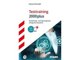 Hesse Schrader: Testtraining 2000plus