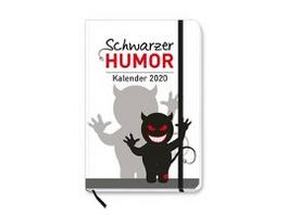 Schwarzer Humor 2020 Taschenkalender