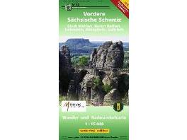 Vordere Sächsische Schweiz 1 : 15 000