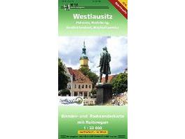 Westlausitz  vormals Pulsnitz und Umgebung  1 : 33