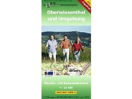 Oberwiesenthal und Umgebung 1 : 33 000