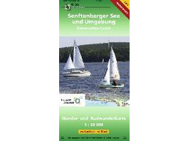 Senftenberger See und Umgebung 1 : 50 000