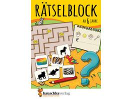 Rätselblock ab 6 Jahre, Band 1
