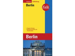 Falk Stadtplan Falkfaltung Berlin, 1: 24 500-1:40